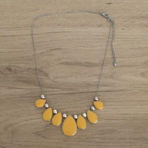 Jewelry - Mustard yellow necklace